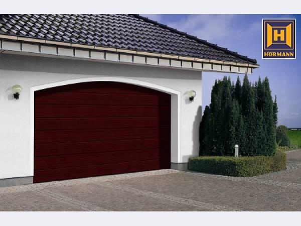 Ворота для гаража подъемные hoermann
