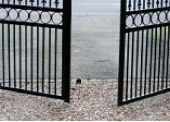 Обычные ворота по низким ценам