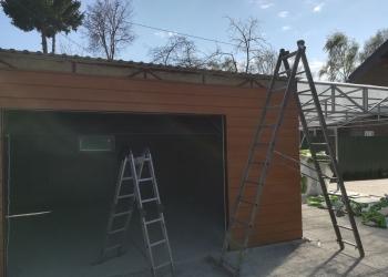 Спец.цена на загородный комплекс гараж + навес