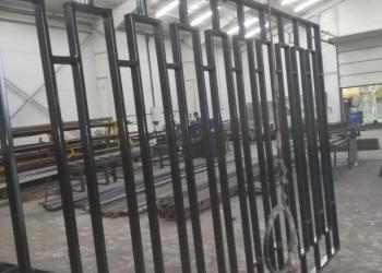 Изготовлено и смонтировано 1000 метров заборных секций по индивидуальному эскизу